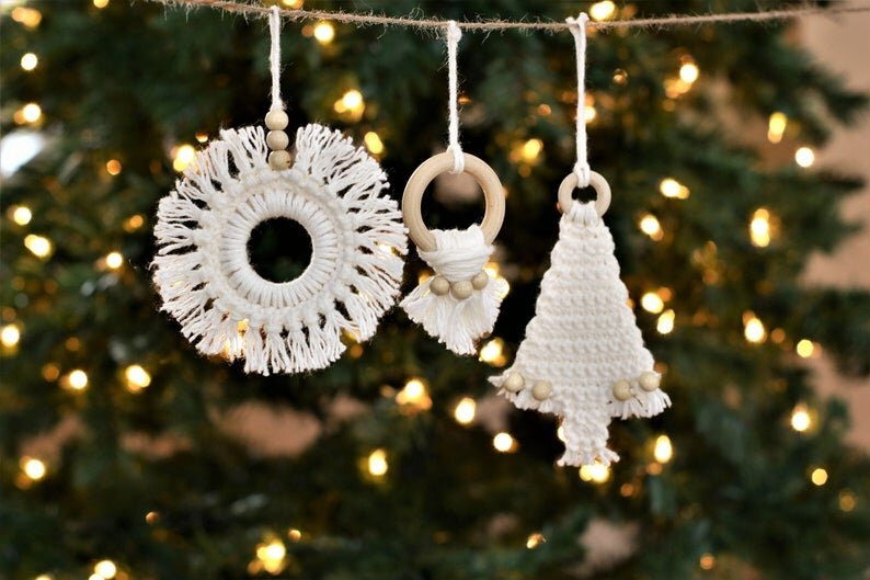 Attaching Fringe – BoHoHo Ornaments