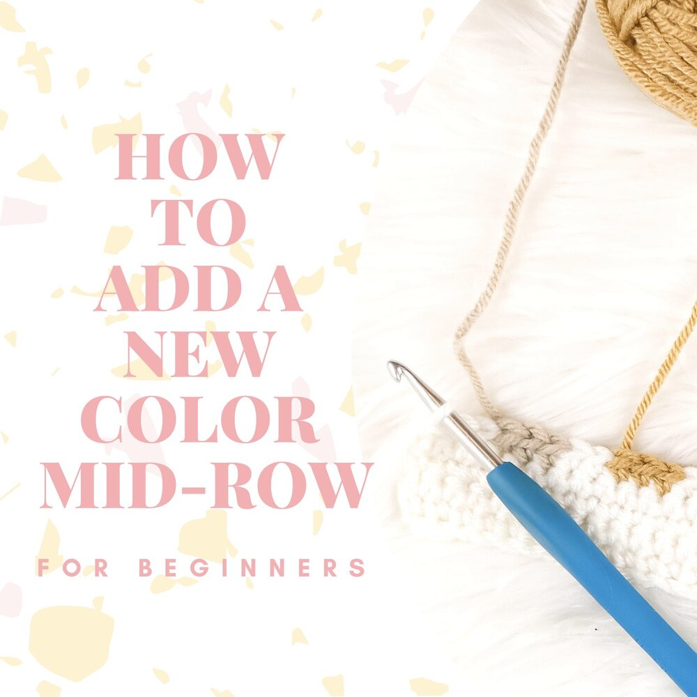 How to Add a New Color Mid-row for Beginners