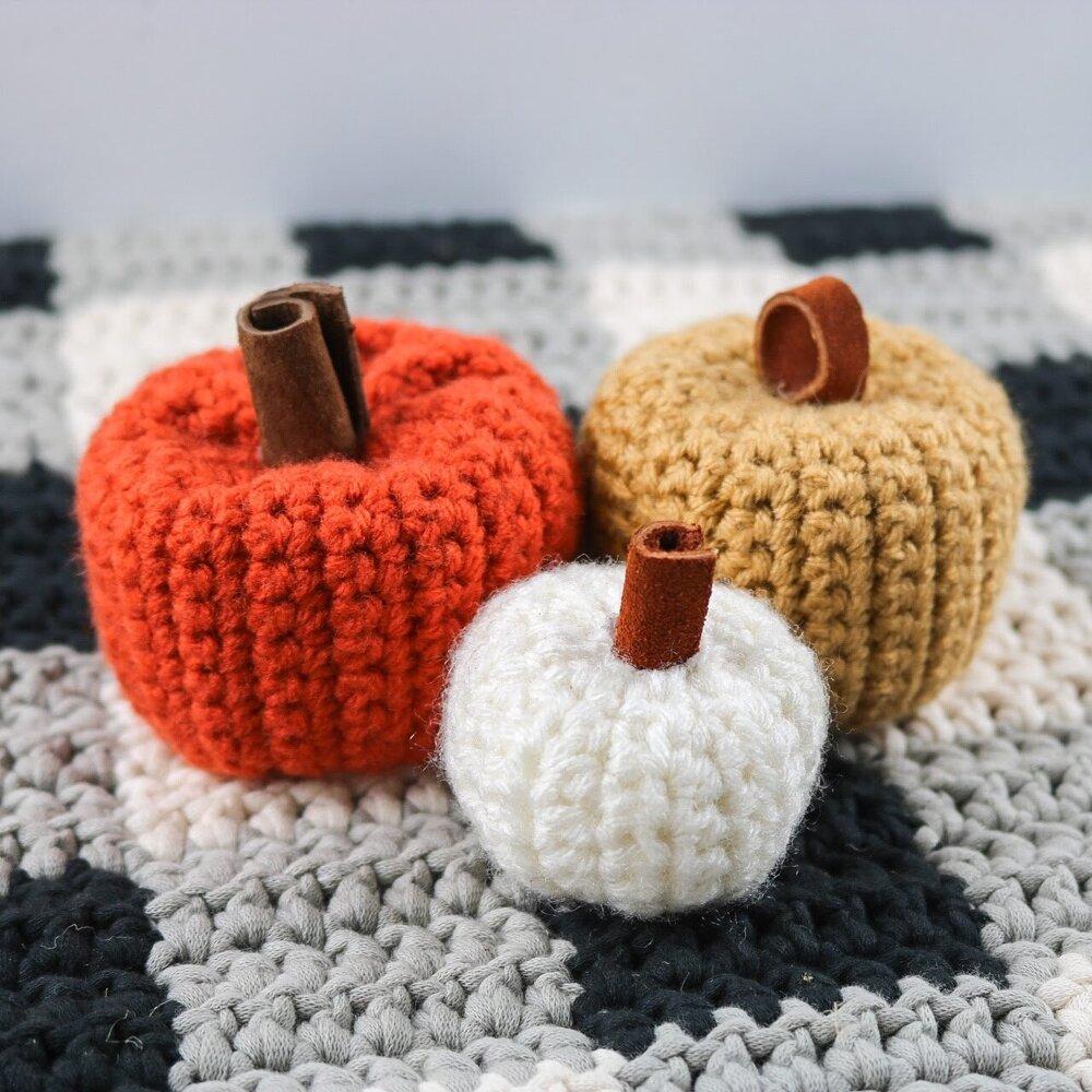 First Project Beginner Pumpkin Crochet Pattern